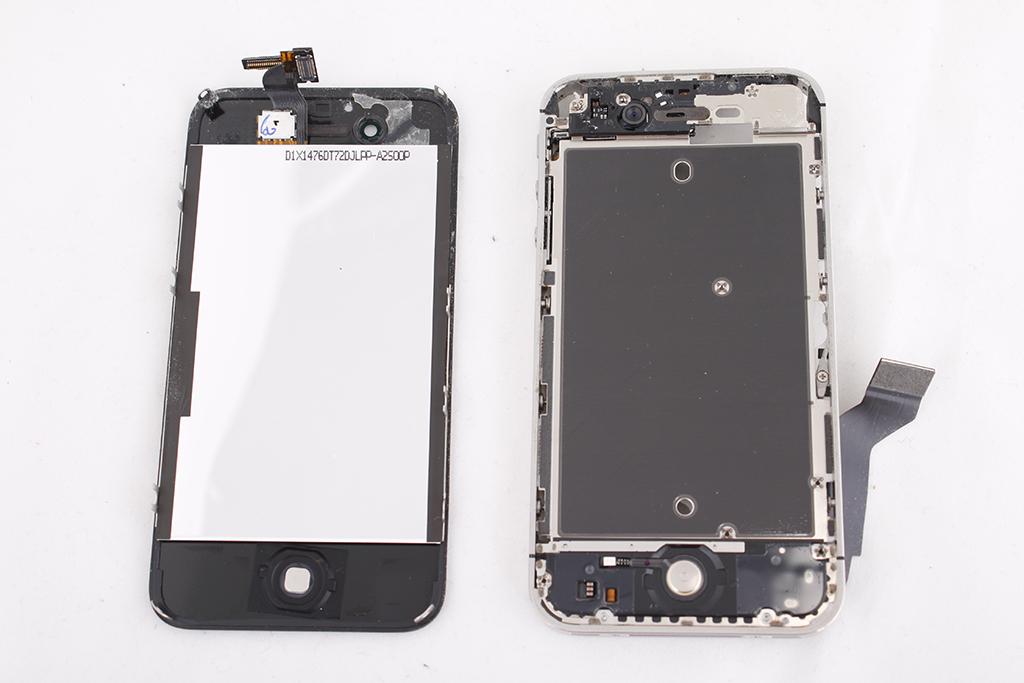 замена стекла айфон 4 своими руками