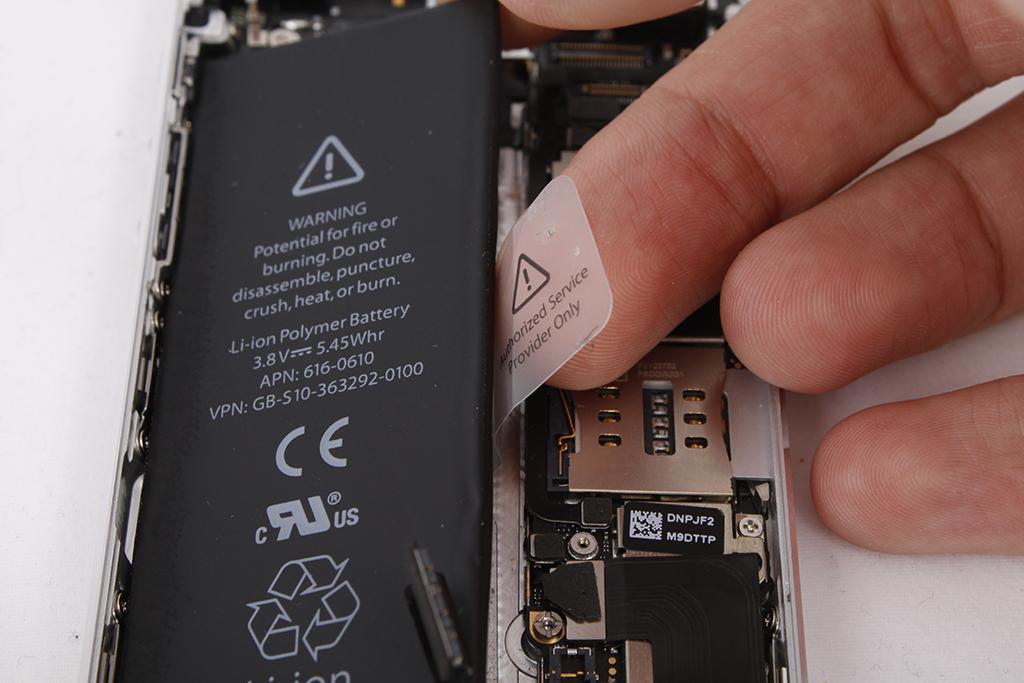 замена батарей на iphone 5s