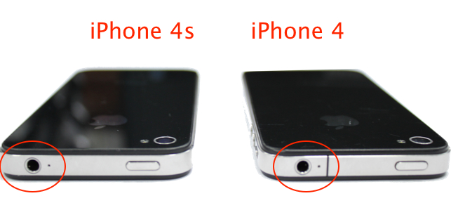 фото iphone 4s и iphone 4