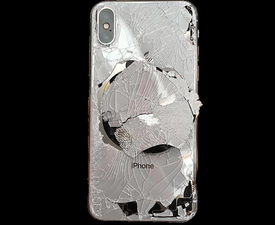 Картинки по запросу разбитая задняя крышка iphone 8