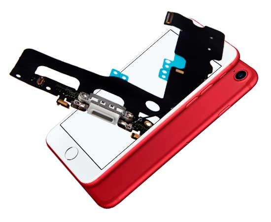 ремонт шлейфа зарядки айфон