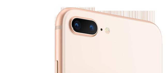 Замена стекла камеры iPhone 8 Plus