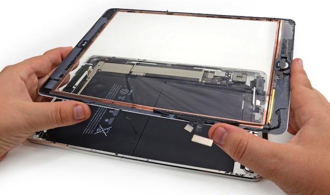 ipad сколько замена стекла