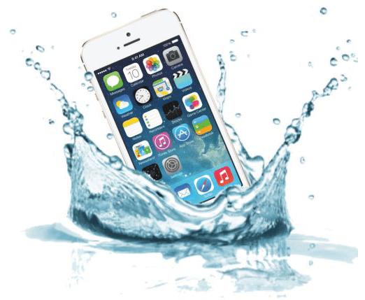 айфон 6 упал в воду ремонт