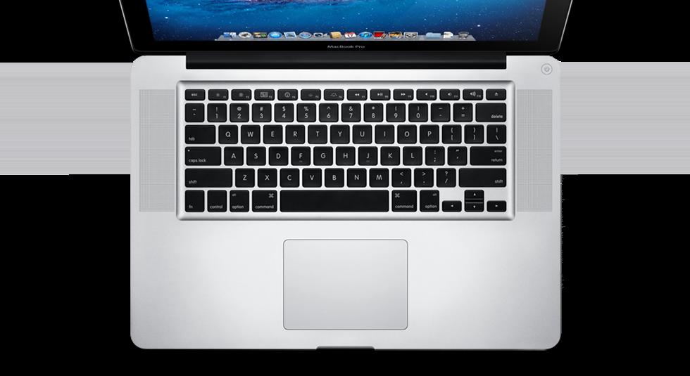 Чистка клавиатуры MacBook Pro