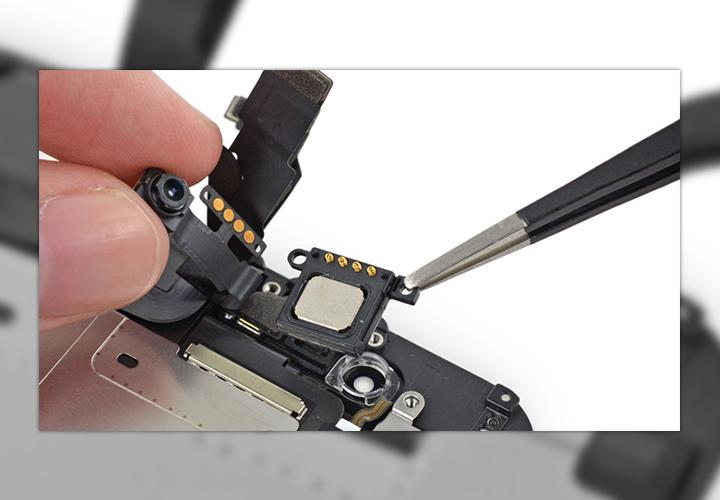 Замена динамика iPhone 6s Plus