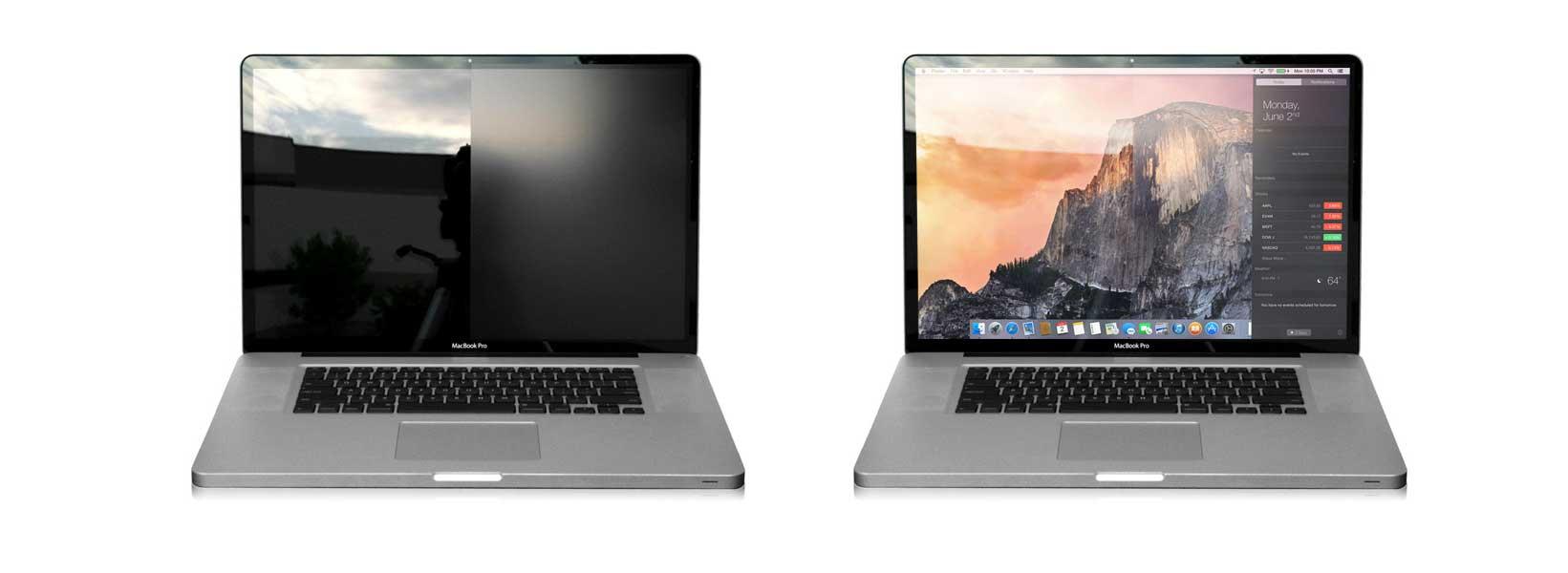 Защищает ли пленка экран MacBook, пленка на экран macbook pro 13 retina