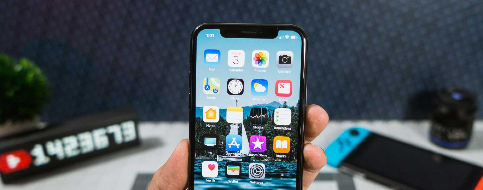 Полировка экрана iPhone X