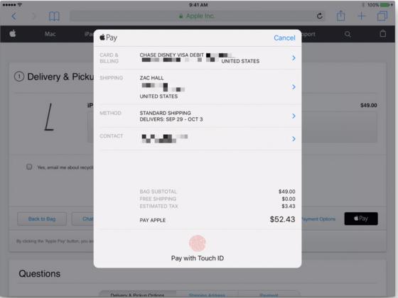 3ff5ff4d17288 На данный момент Apple Pay доступен на сайте Apple.com, а также некоторых  других ресурсах. Напоминаем, что с недавнего времени платежный сервис Apple  ...