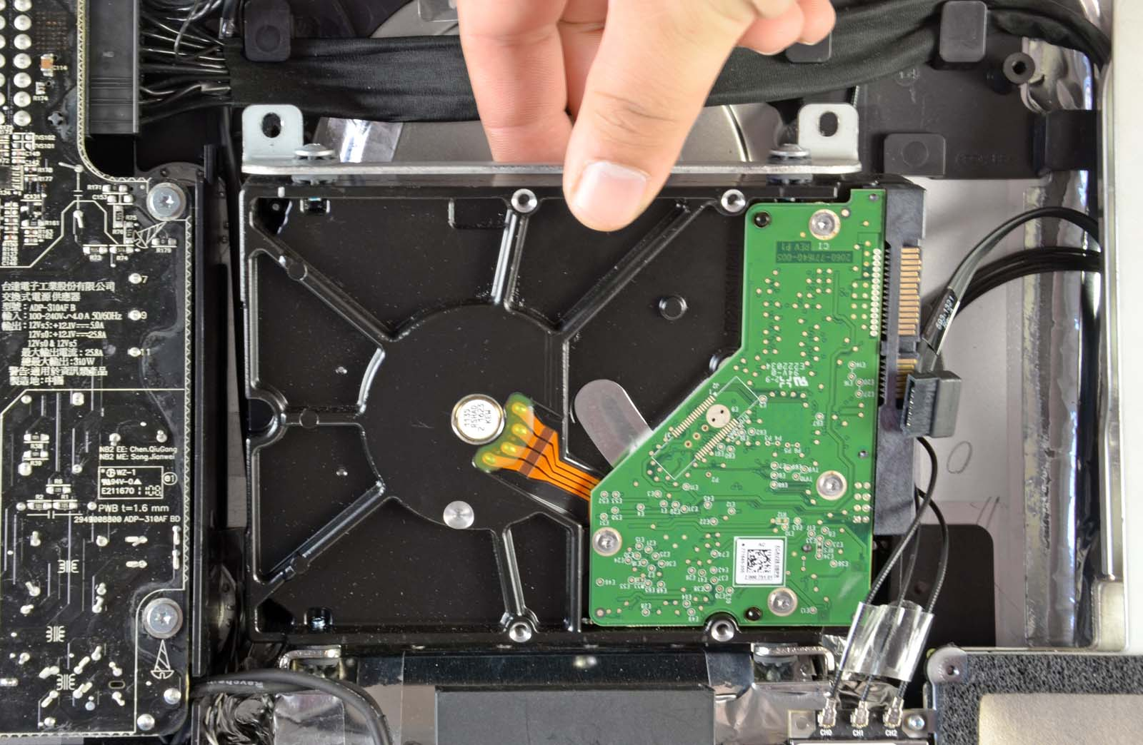 жесткий диск iMac 27