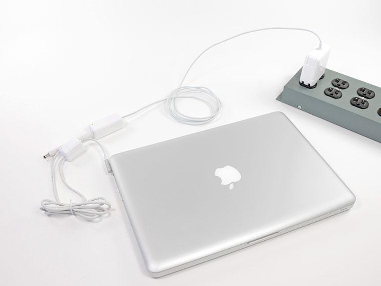 Включается и выключается MacBook