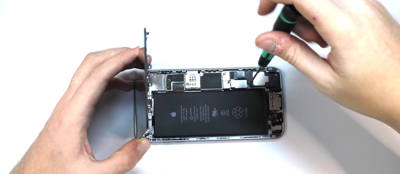 Замена батареи iPhone 6 Plus