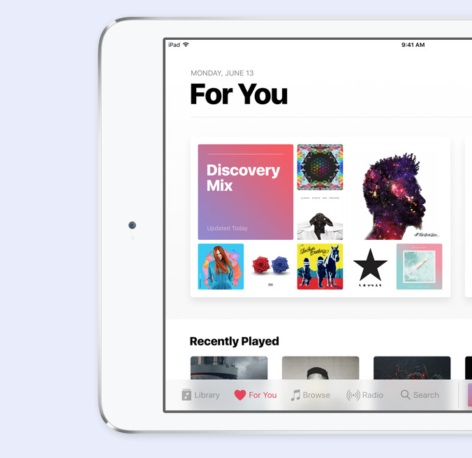 ios 10 apple music