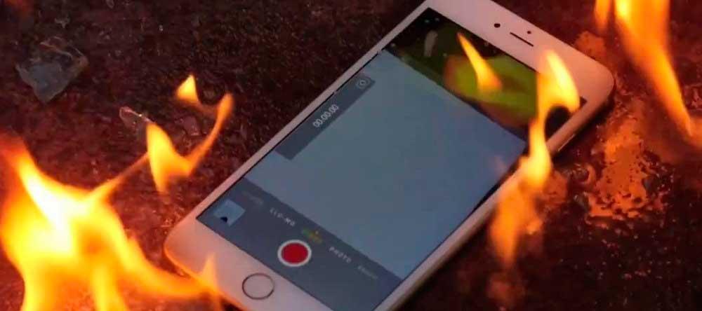 Нагревается iPhone 6