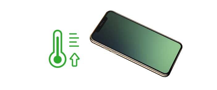 нагревается iPhone XS (XS Max)