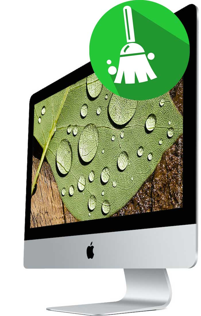 Профилактическая чистка iMac от пыли и грязи