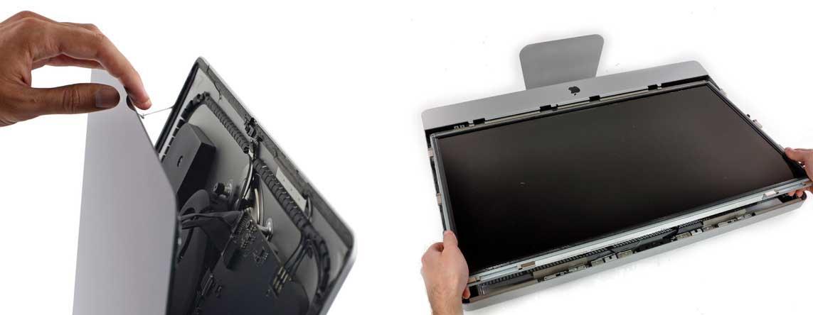Ремонт или замена экрана iMac