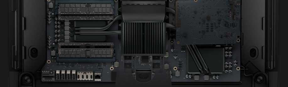 Замена оперативной памяти iMac Pro, Апгрейд оперативной памяти iMac Pro