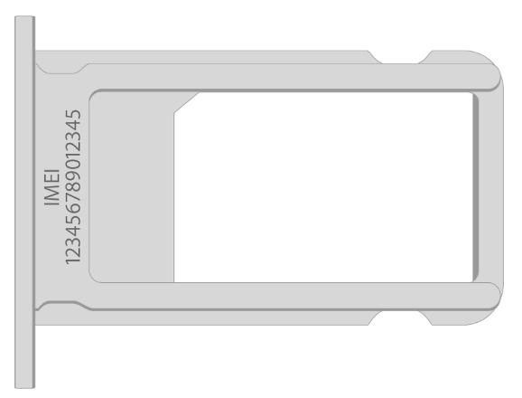 IMEI iPhone 6s на корпусе