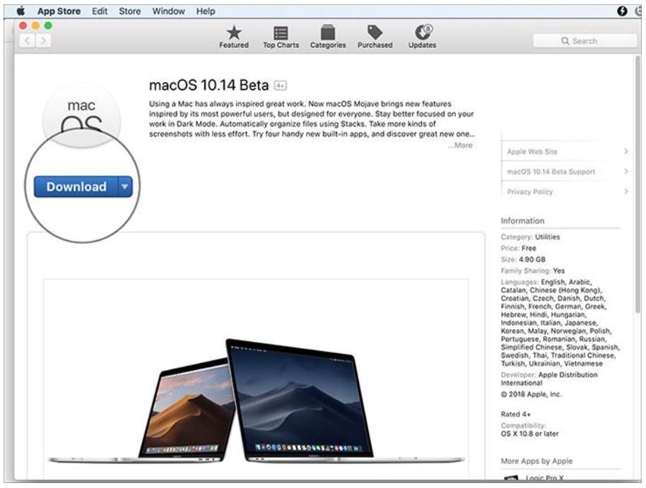 Как установить macOS 10.14 Mojave