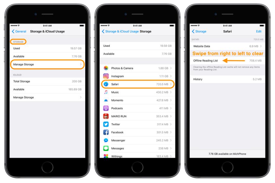 Как освободить место на iOS-устройстве