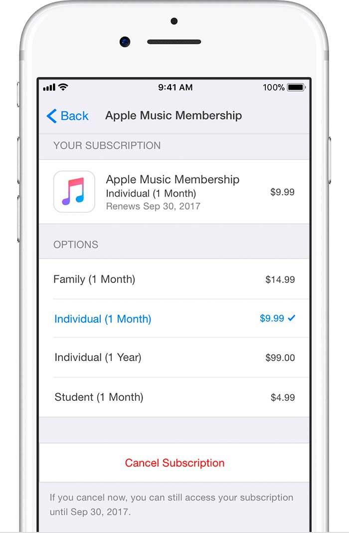 How to cancel a purchase from the App Store