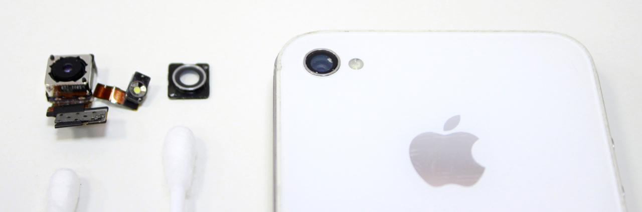 Чистка камеры iPhone 4s