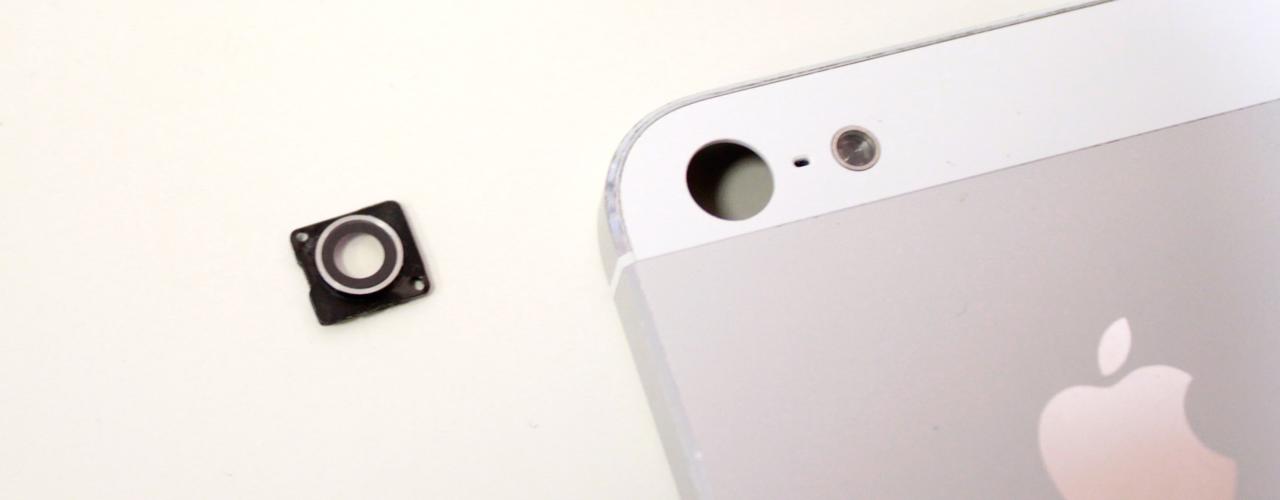 сколько стоит замена камеры iphone 5s