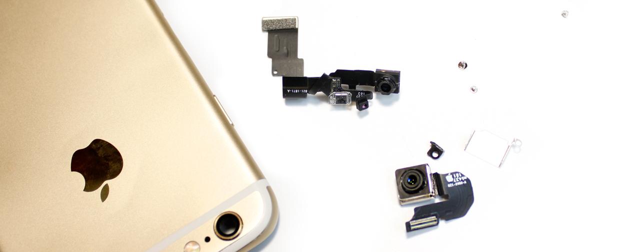Замена камеры iPhone 8