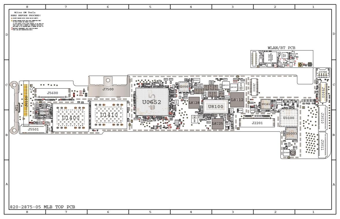 Iphone 5s Схема платы