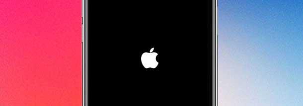 Если iPhone X перезагружается