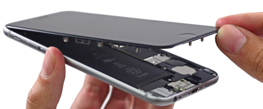 Замена микросхемы тачскрина iPhone 6, не работает сенсор на Айфоне 6