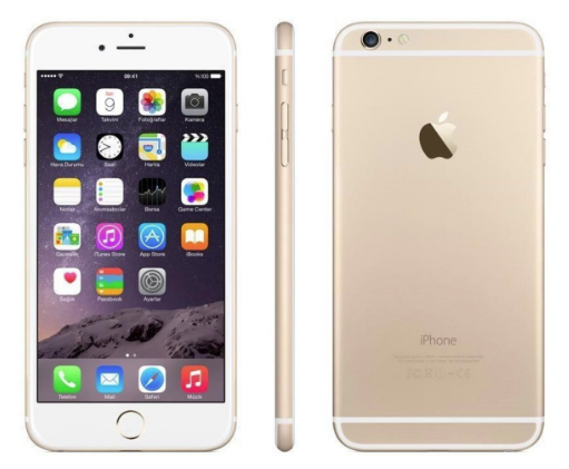 корпус iPhone 6 Gold