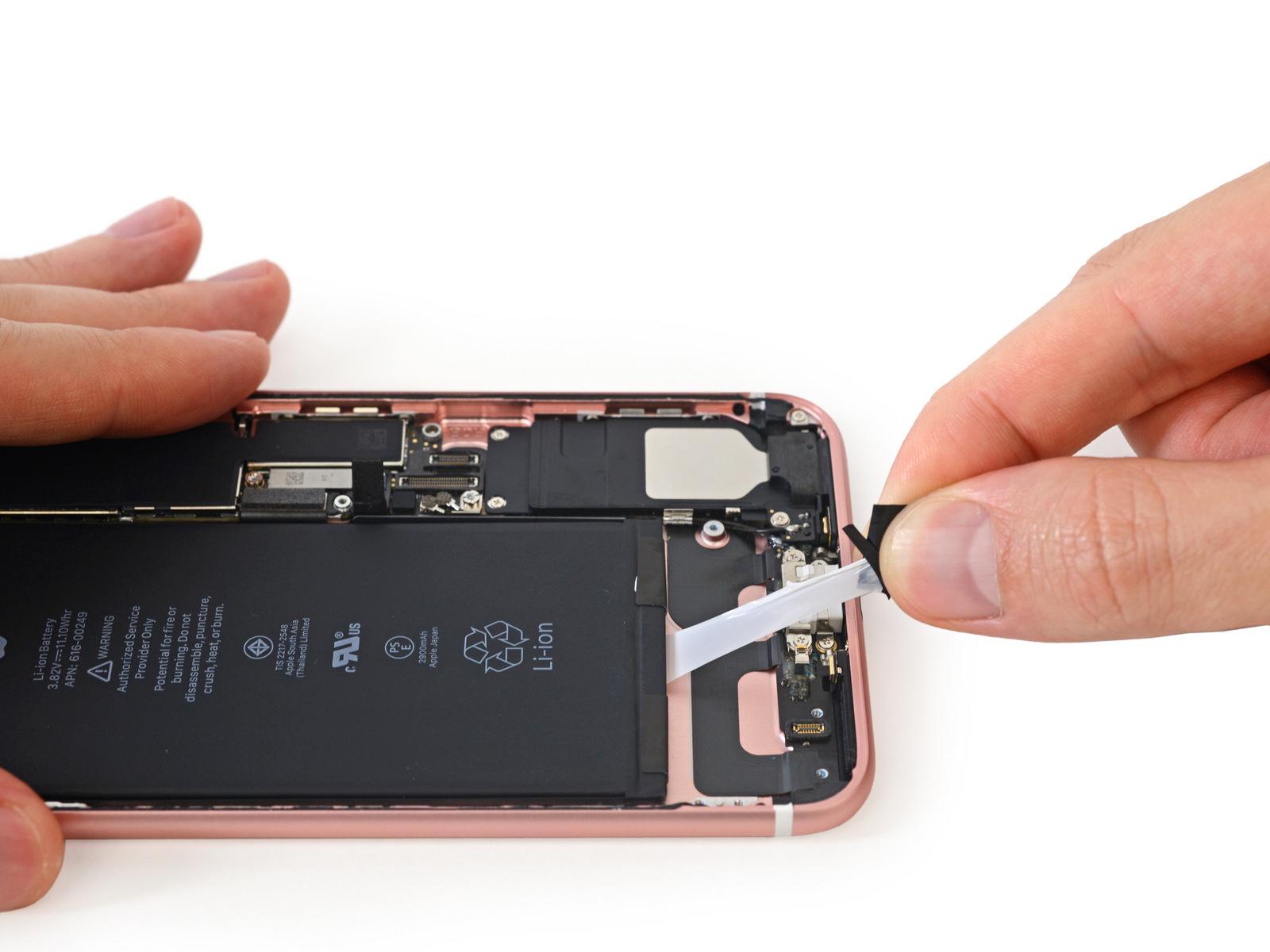 замена аккумулятора iPhone 7 Plus, замена батареи iPhone 7 Plus, Айфон 7 плюс не держит заряд