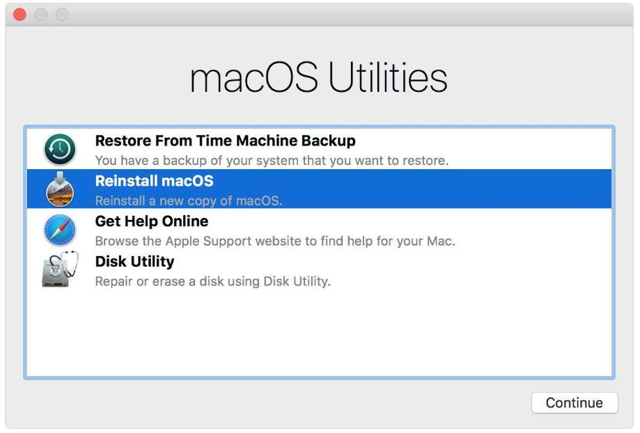 Исчез один диск на iMac