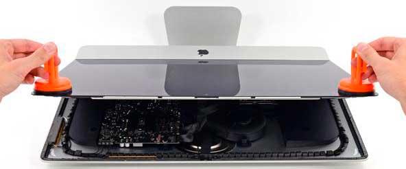 ак снять подставку iMac и для чего это нужно?