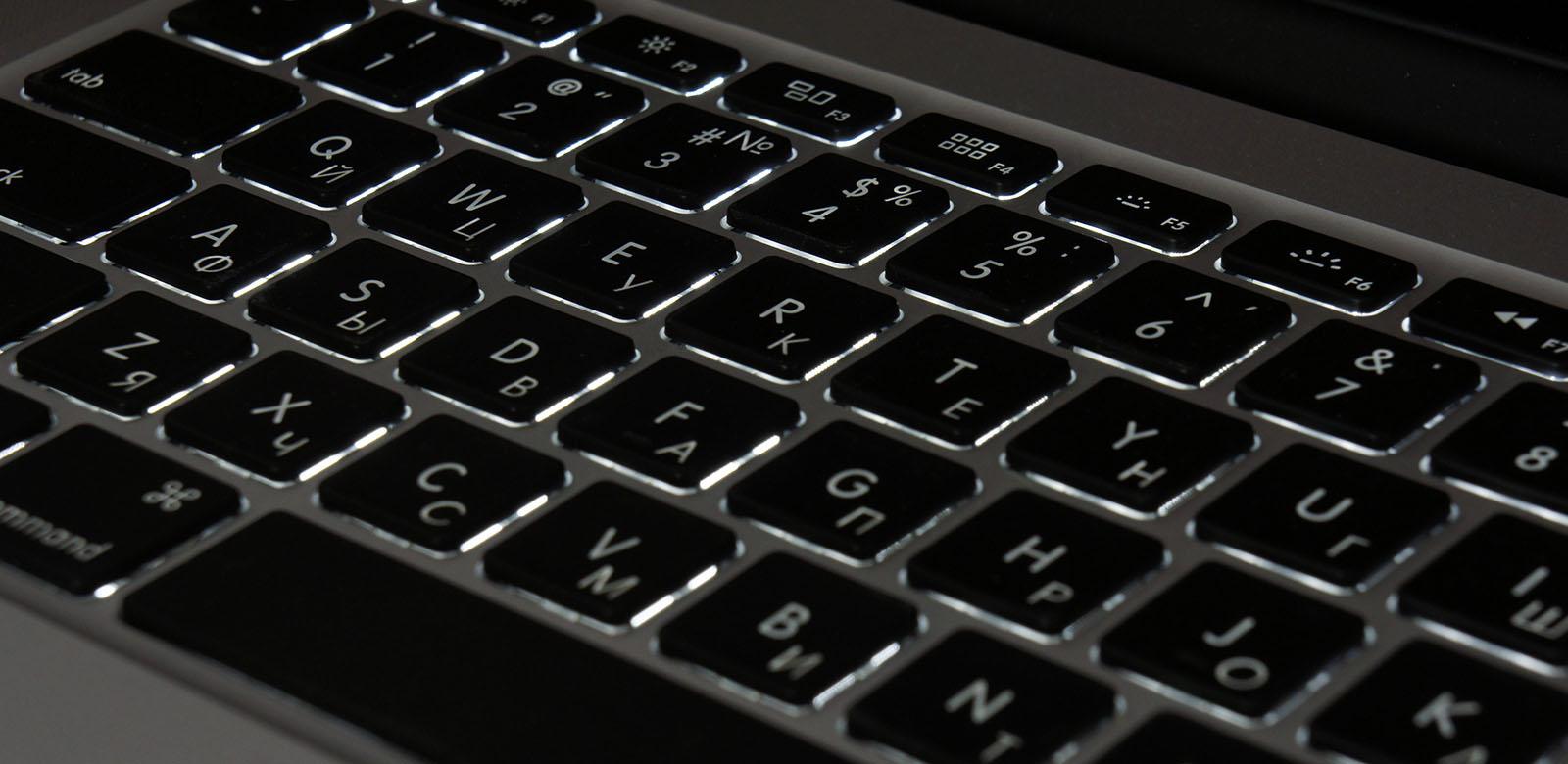 не работает подсветка клавиатуры макбук эйр