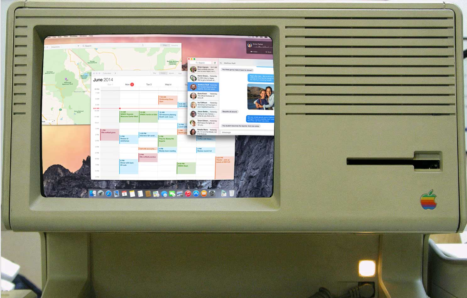 lisa, mac os x yosemite