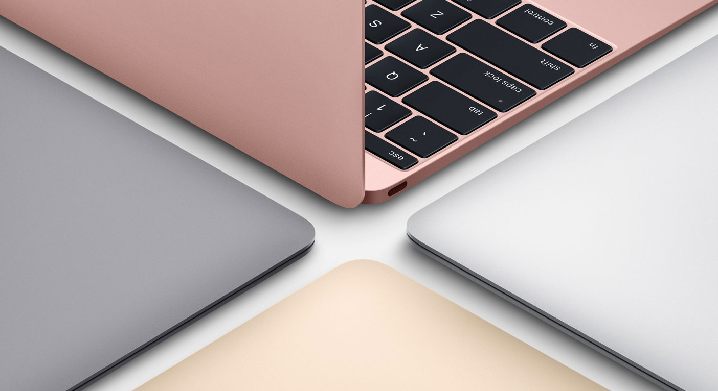 macbook 12 rose gold