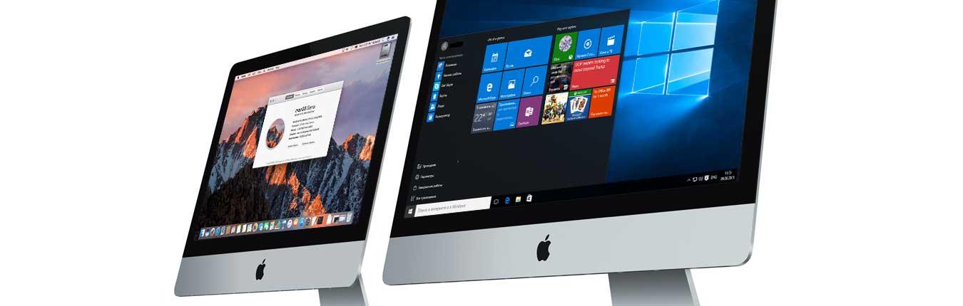 установка ОС iMac, установить mac os
