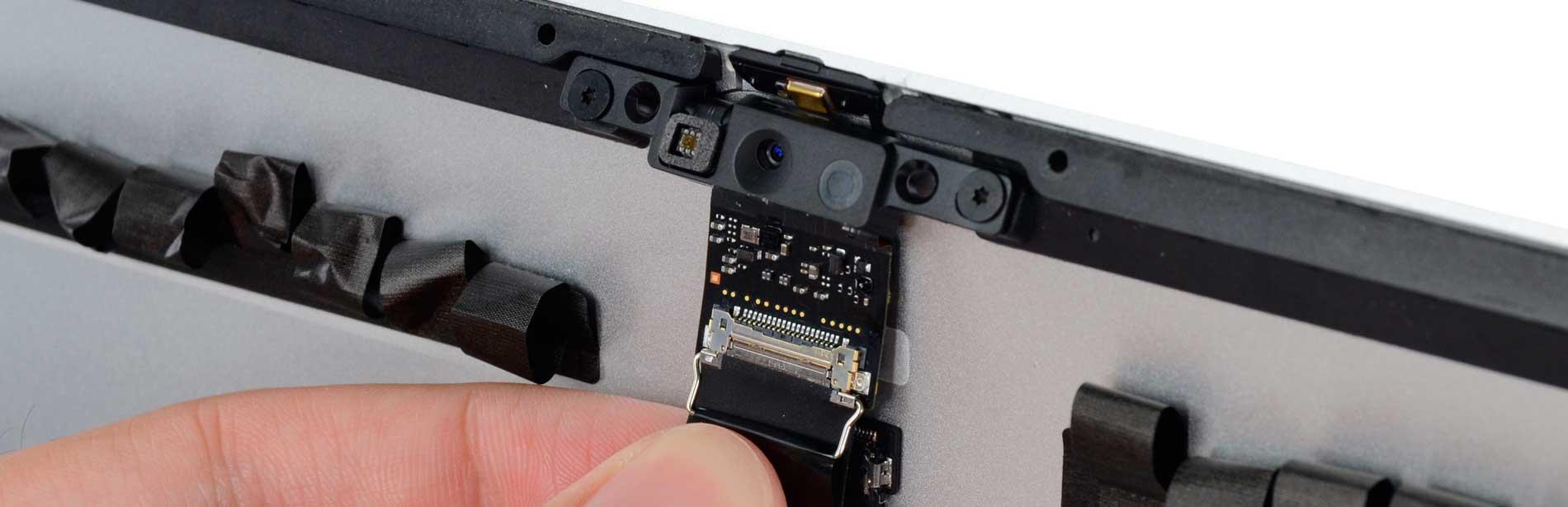 Замена микрофона iMac