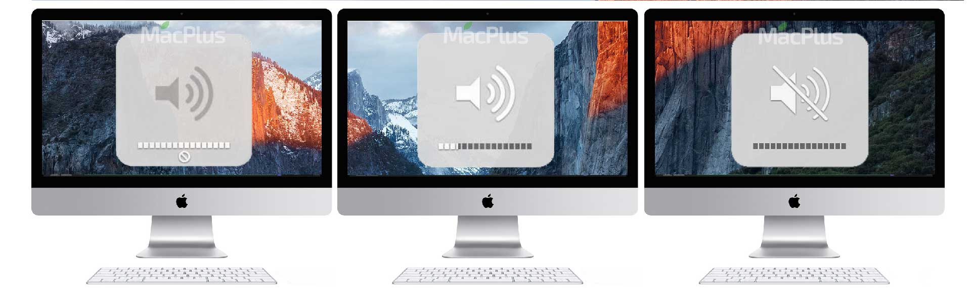 На iMac пропал звук, Нет звука на iMac, Звук iMac тихий