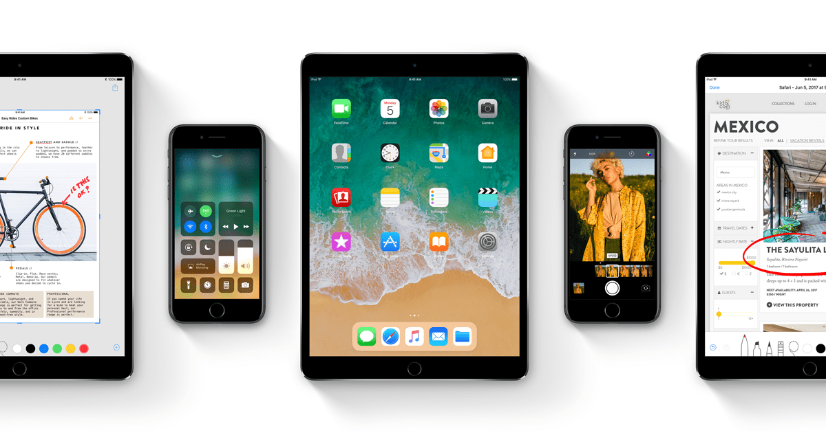 iOS 11 что нового