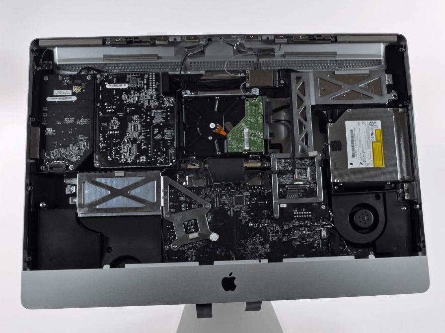 Охлаждение iMac