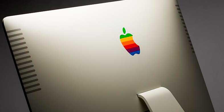 Покраска корпуса iMac