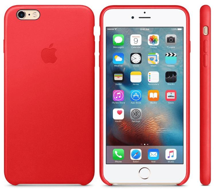 красный корпус iPhone 6