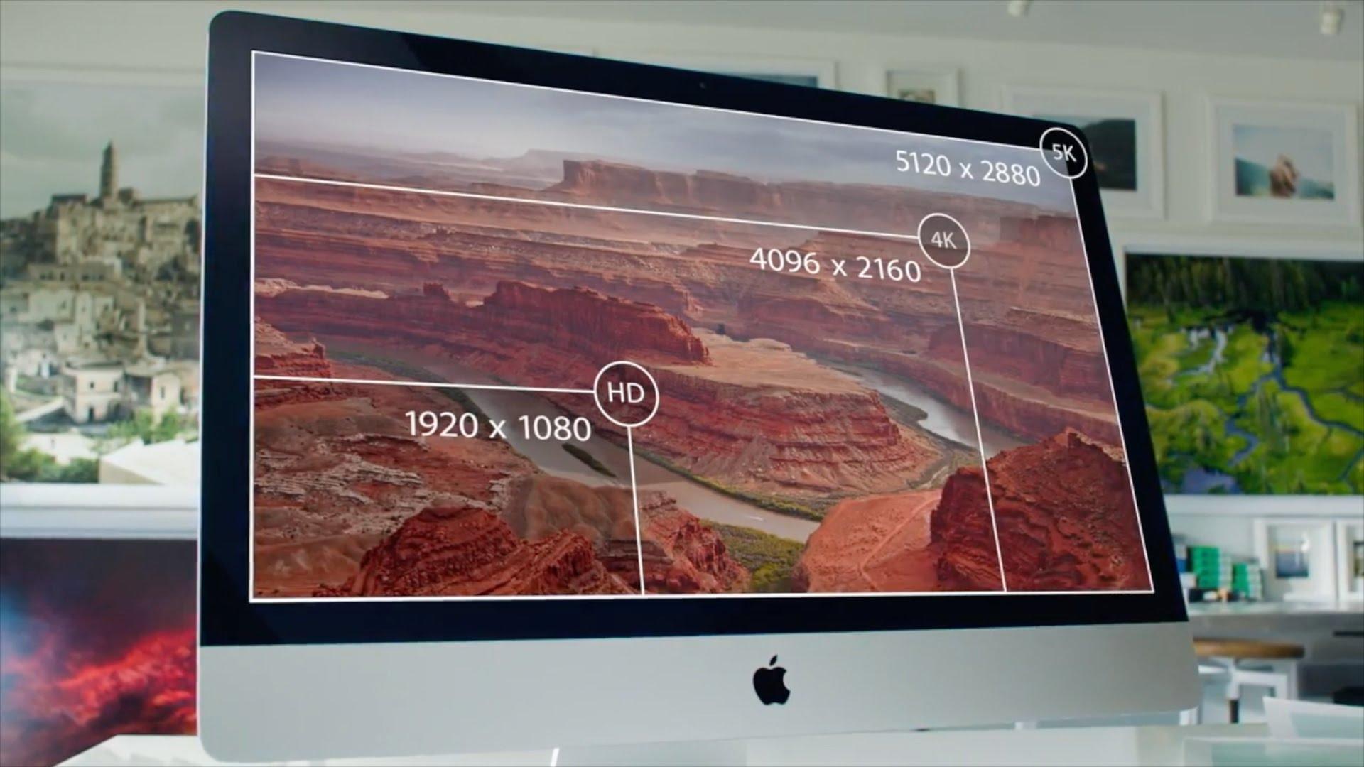 iMac разрешение экрана