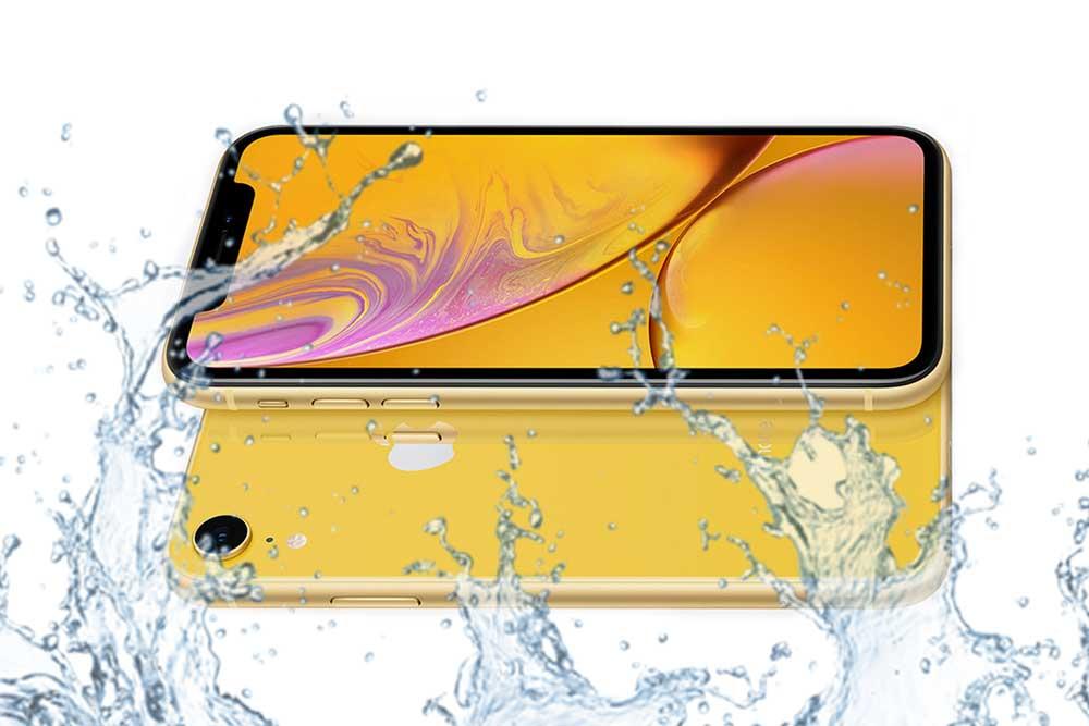 Что делать если вода попала внутрь iphone XR