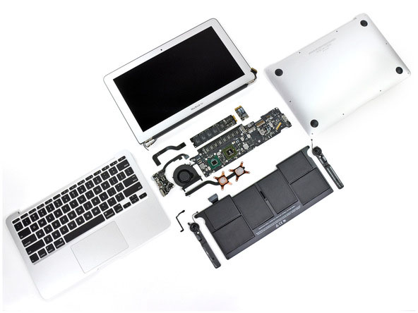 Ремонт MacBook Air 11 A1370 метро Курская