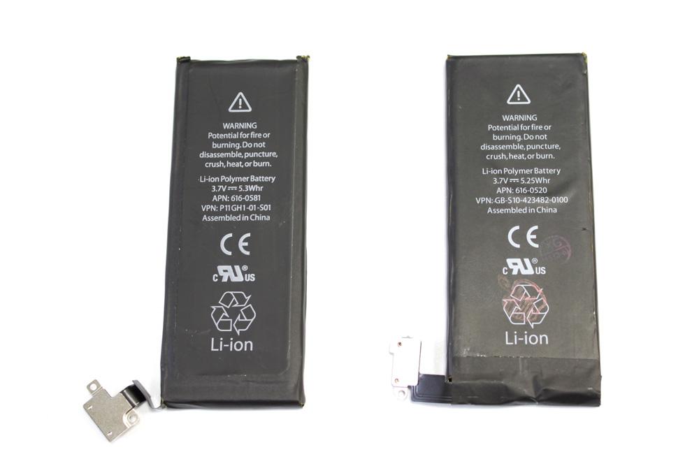 батарея iphone 5 емкость